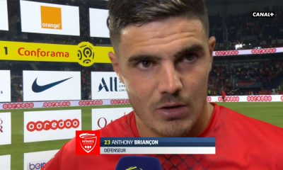 """PSG/Nîmes - Briançon: """"On a subi tout le match, et il y a une grande équipe face à nous"""""""