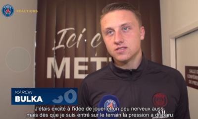 """Bulka """"Je suis heureux d'avoir pu disputer mon premier match avec le PSG...J'ai tout donné"""""""