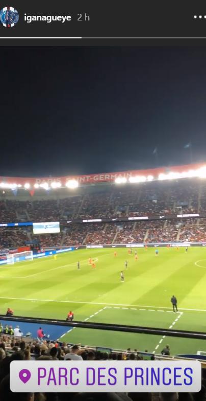 Les images du PSG ce dimanche : victoire contre Nîmes pour le premier match au Parc des Princes