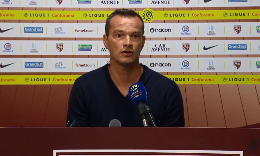 Metz/PSG - Hognon «J'ai vu un FC Metz très valeureux, on a plutôt bien défendu mais il nous a manqué un peu de réussite.»