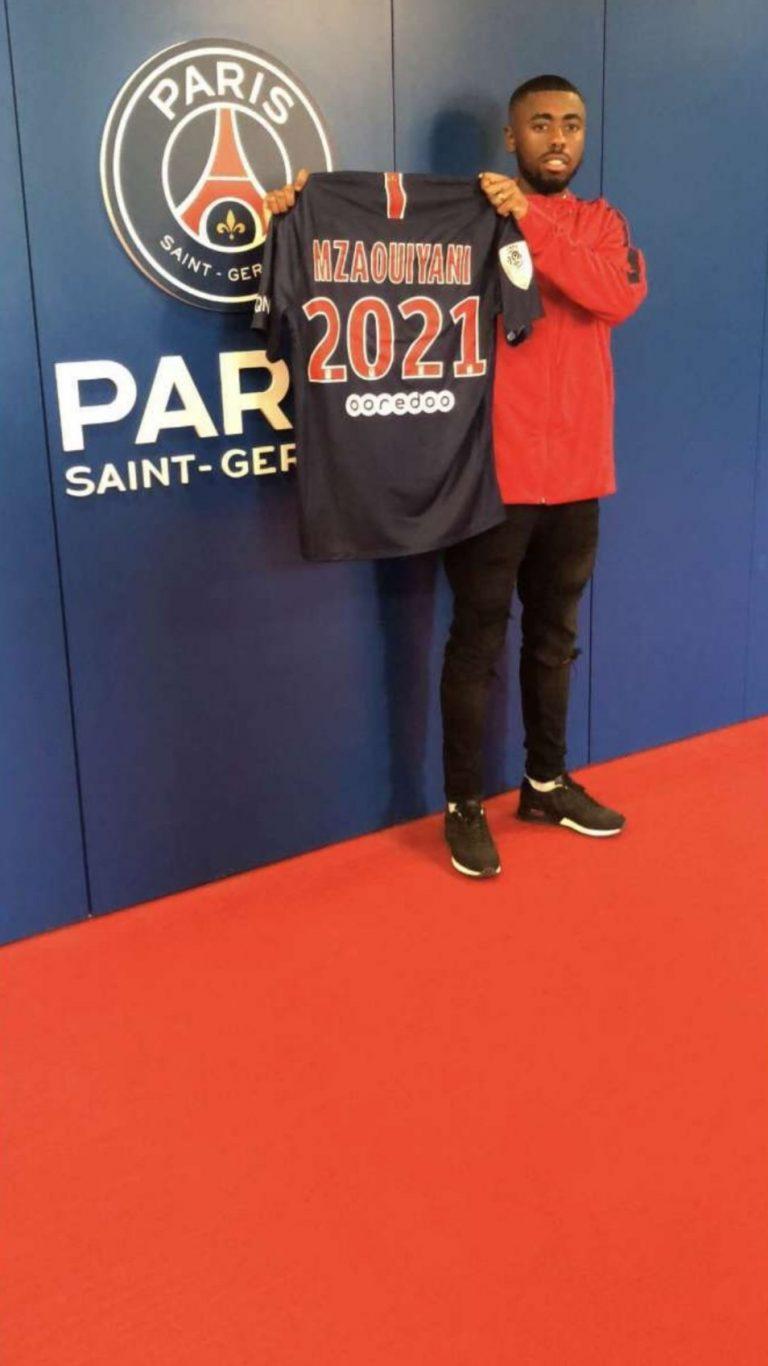 Mzaouiyani a été libéré par le PSG et va signer à Al-Aïn, selon RMC Sport
