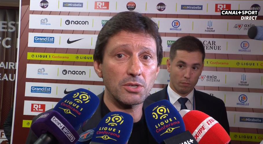 Leonardo fait le point sur Neymar «il n'y a pas d'accord», ainsi qu'Areola et Navas