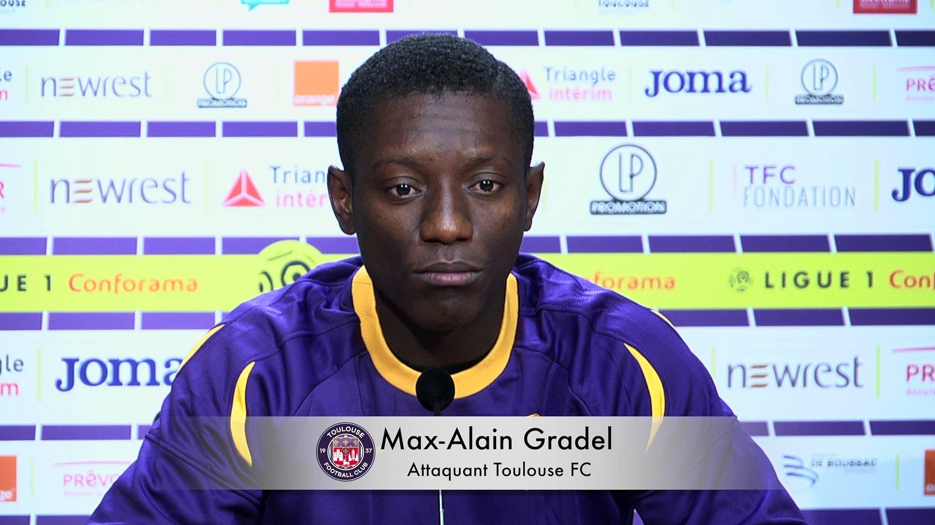 "PSG/Toulouse - Gradel ""On a tenu qu'une seul mi-temps"""
