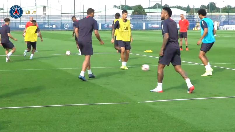 Les images du PSG ce mercredi : entraînement et joyeux anniversaire Thiago Motta