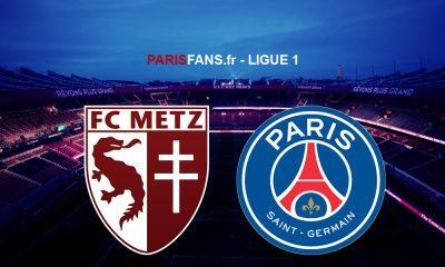 Metz/PSG - Les équipes officielles :