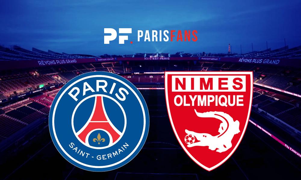 PSG/Nîmes - Les équipes officielles : Draxler titulaire, Meunier sur le banc
