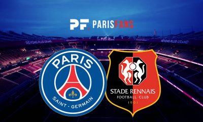 PSG/Rennes - Les équipes officielles :