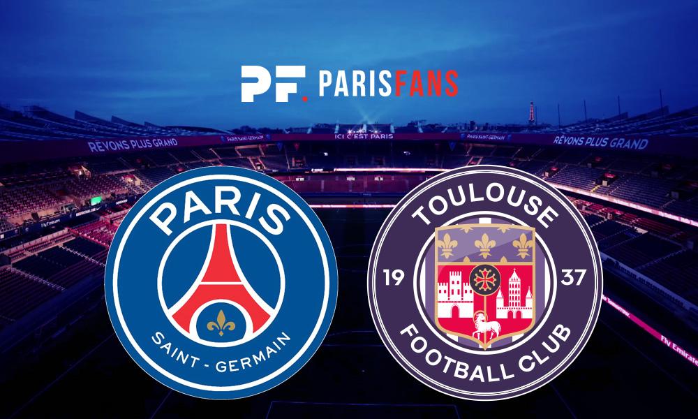 PSG/Toulouse - Les équipes officielles :
