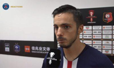"""TDC - Sarabia """"Premier match officiel, premier trophée pour moi! Je ne pouvais rêver mieux"""""""