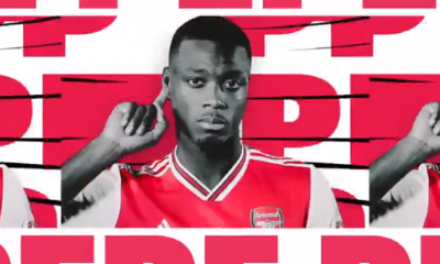 Officiel - Pépé, un temps évoqué dans le viseur du PSG, signe à Arsenal