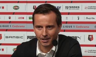 """PSG/Rennes - Stéphan """"On n'a pas été loin. On a fait un match courageux, organisé"""""""