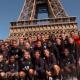 L'équipe féminine du PSG a fait une course pour monter les marches de la Tour Eiffel