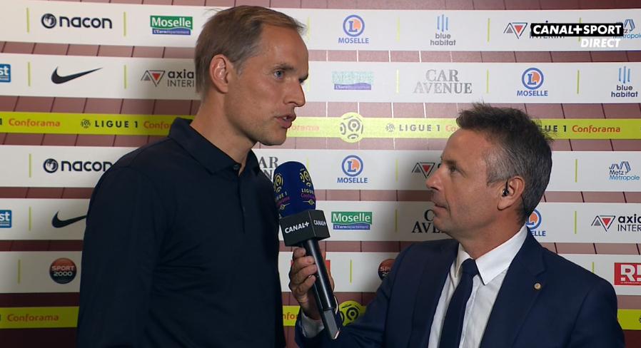 Metz/PSG - Tuchel : performance, Leonardo va parler et Ligue des Champions