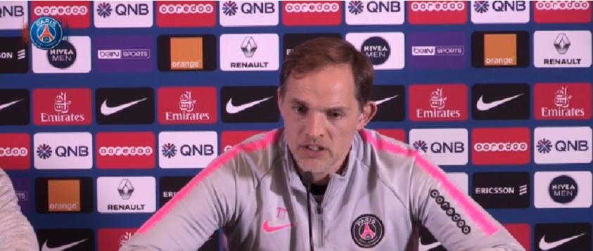 Rennes/PSG - Suivez la conférence de presse de Tuchel et Diallo à 13h