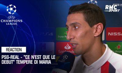 """PSG/Real Madrid - Di Maria: """"On a fait un travail parfait. Là, ce n'est que le début"""""""