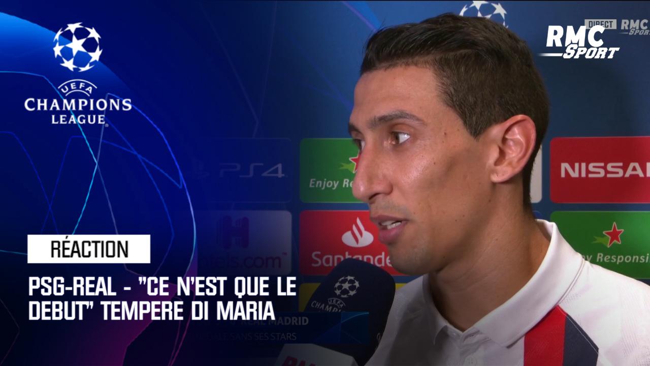 PSG/Real Madrid - Di Maria: «On a fait un travail parfait. Là, ce n'est que le début»