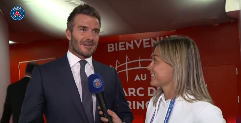 """PSG/Real Madrid - Beckham """"Paris a été incroyable...Je fais partie de la famille"""""""