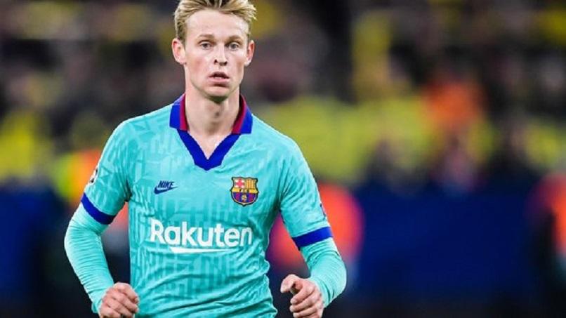 De Jong «Si ça n'avait pas été le Barça, ça aurait le PSG ou Manchester City»