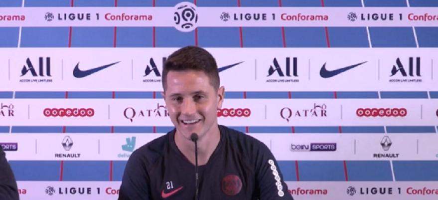 PSG/Strasbourg - Herrera en conf : Navas, le club, Neymar, état d'esprit et les supporters