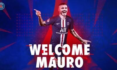 """Icardi """"Je remercie le Paris Saint-Germain pour la confiance qui m'est témoignée"""""""