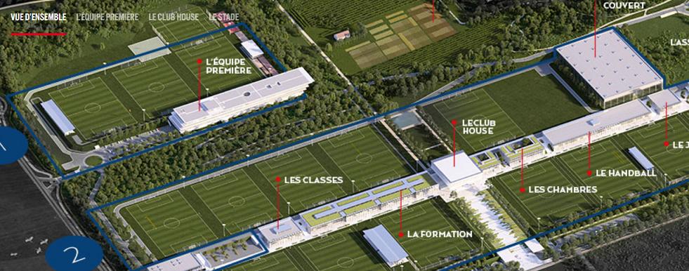 Le PSG a fait sorte que son nouveau centre d'entraînement soit un exemple environnemental, explique Le Parisien