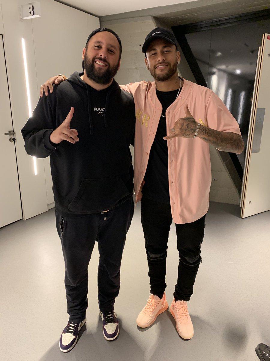 """Luan, le frère de Marquinhos, s'amuse avec une photo avec Neymar """"Se queda"""""""