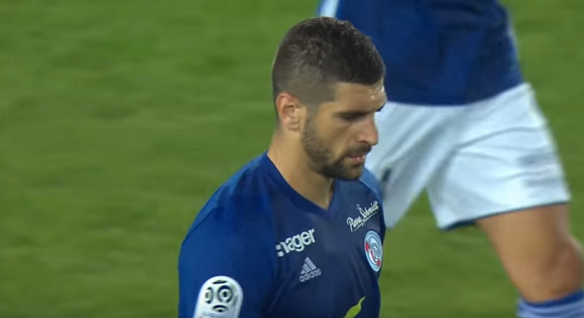 "PSG/Strasbourg - Mitrovic ""C'est terrible de perdre comme ça."""
