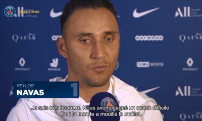 """Navas: """"Je veux défendre ce maillot à fond"""""""
