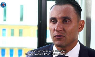 """Navas: """"Je viens en toute humilité, mais également un grand désir de travailler et d'aider mes coéquipiers"""""""