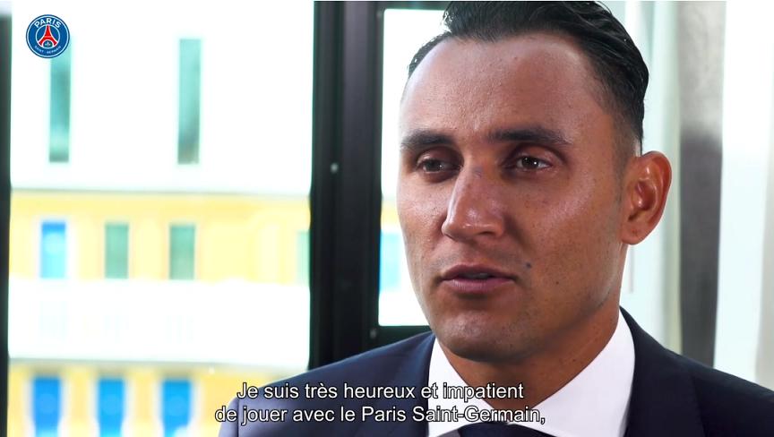 """Navas """"Je viens en toute humilité, mais également un grand désir de travailler et d'aider mes coéquipiers"""""""