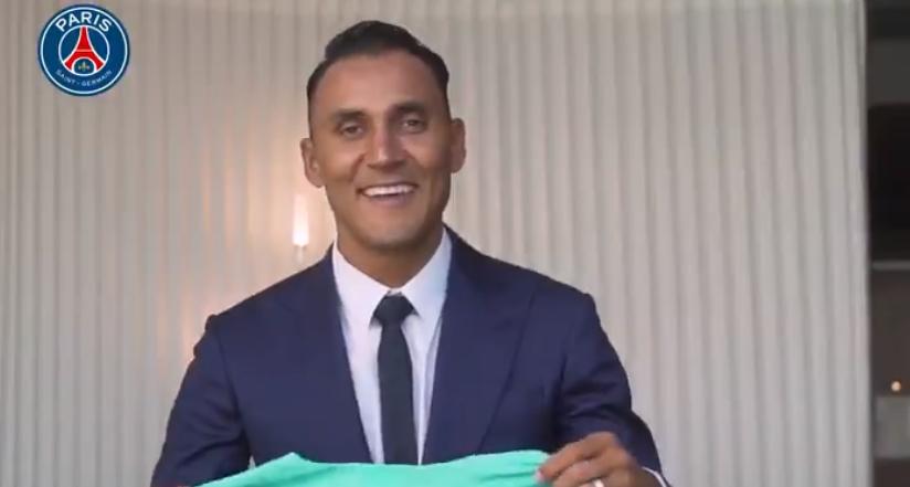 """Keylor Navas """"Je ferai tout pour aider le PSG...Et j'essaierai aussi de gagner le cœur des supporters parisiens"""""""