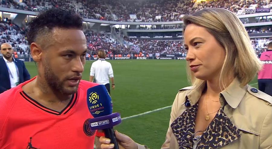 """Bordeaux/PSG - Neymar """"Je suis très heureux de pouvoir marquer dans des matchs compliqués"""""""
