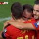 Pablo Sarabia est entré en jeu lors de la victoire de l'Espagne contre les Îles Féroé