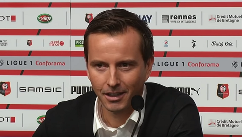 """Julien Stéphan """"on a gagné le match contre le PSG grâce à notre prise de risque"""""""