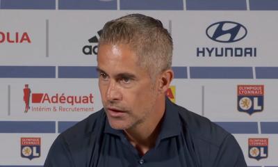 """OL/PSG - Sylvinho """"Le PSG est une équipe de qualité exceptionnelle...Ce but, c'est frustrant"""""""