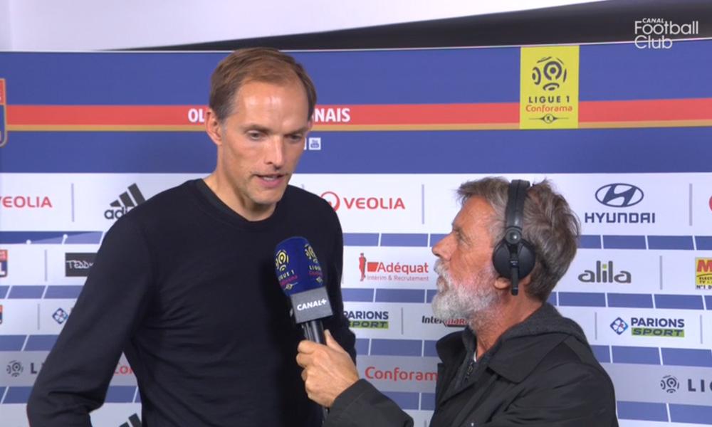 """OL/PSG - Tuchel """"C'est mérité...Neymar peut faire beaucoup mieux encore"""""""