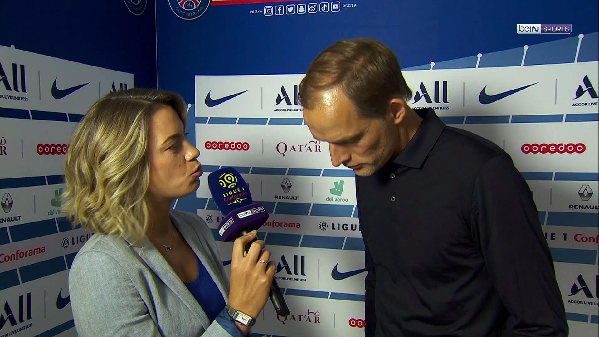 """PSG/Strasbourg - Tuchel: """"On a montré que l'on sait gagner dans la difficulté"""""""