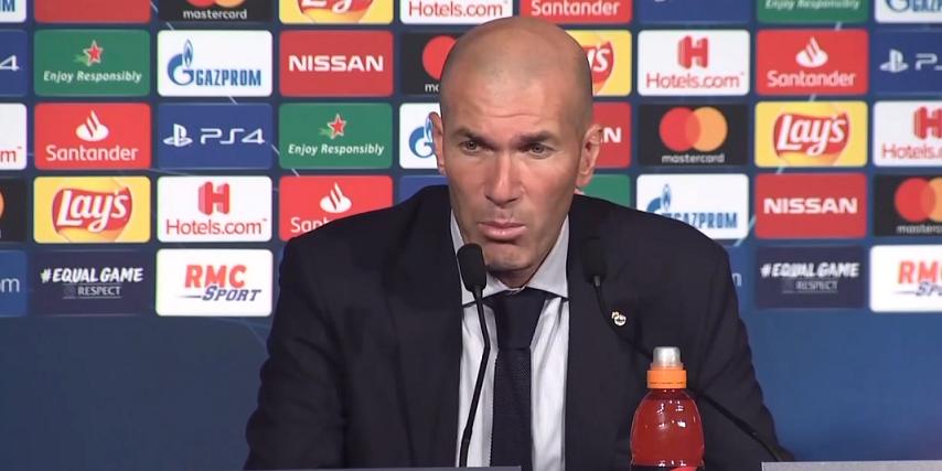 PSG/Real Madrid - Zidane «Le PSG a mérité de gagner son match. Ils ont été très bons à tous les niveaux»