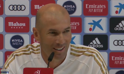 PSG/Real Madrid - Zidane en conf :