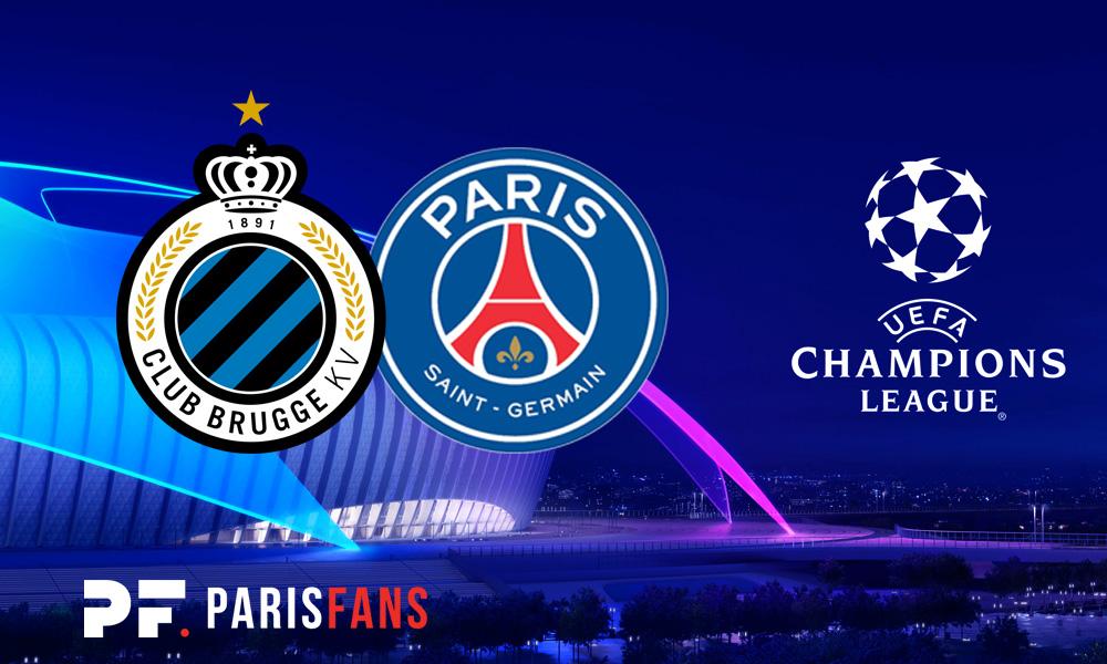 Bruges/PSG - Le groupe belge pour recevoir Paris