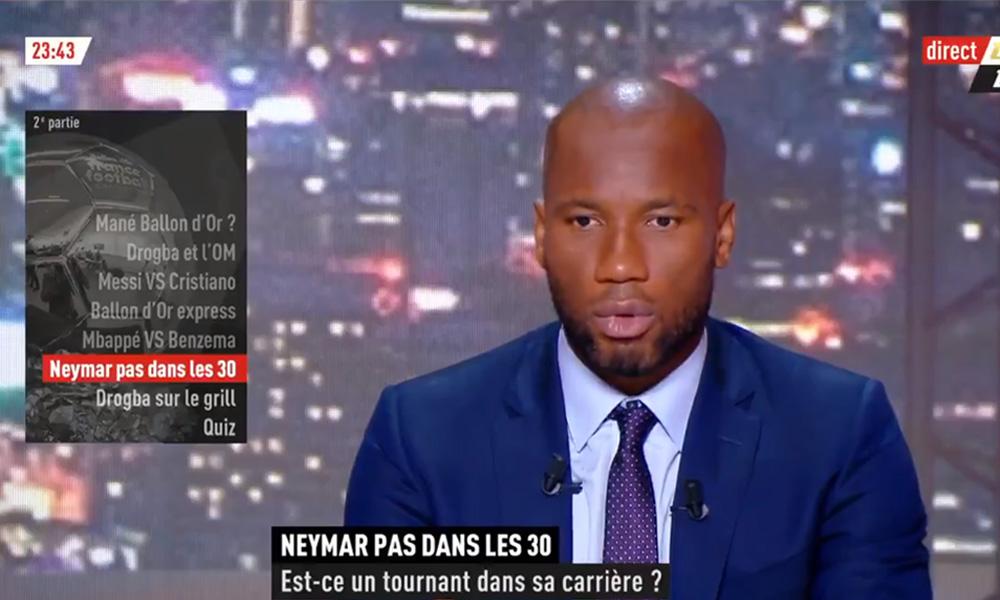 Drogba: «Neymar, aujourd'hui, il est en difficulté, mais je pense que ça peut être un mal pour un bien»