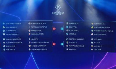 Ligue des Champions - Tous les résultats de la 2e journée de la phase de groupes