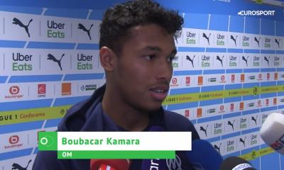 """PSG/OM - Kamara """"A nous d'oublier ce match. Je ne saurais expliquer cette entame."""""""