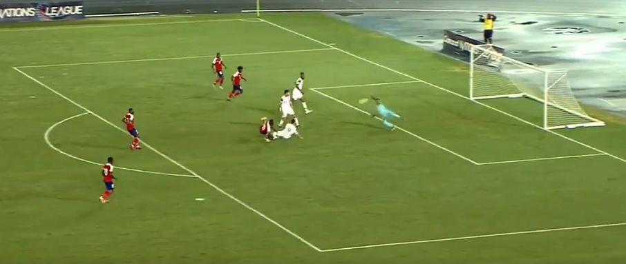 Navas a réussi une très belle performance lors du match nul entre le Costa Rica et Haïti.