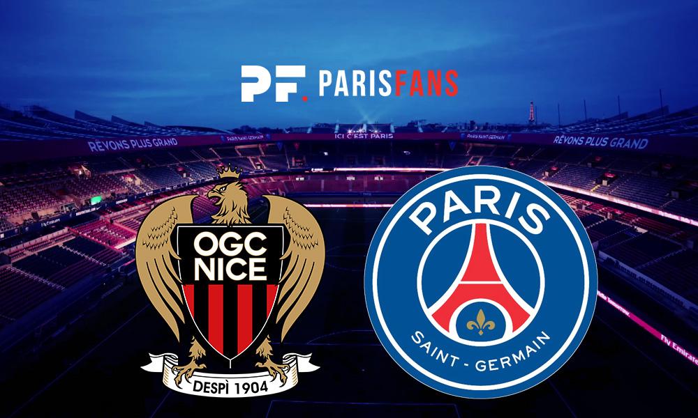 Nice/PSG - Les équipes officielles : Diallo arrière gauche, Mbappé et Cavani sur le banc