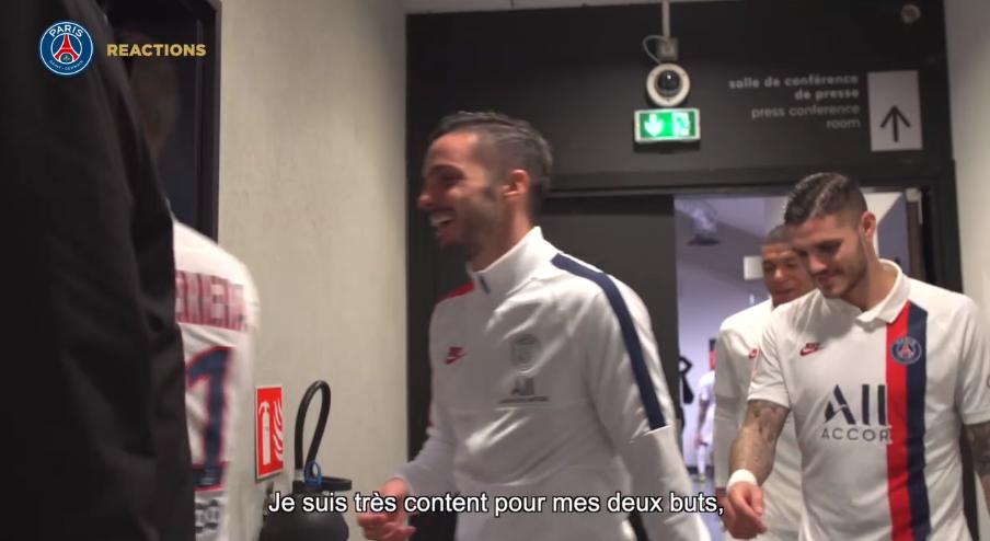 les images du PSG ce samedi : célébrations et réactions après la victoire contre Nice