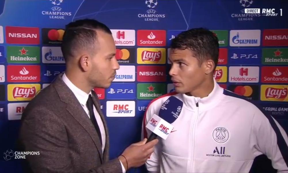 LDC - Thiago Silva «C'est à mon avis l'équipe la plus forte depuis que je suis là&on ne peut pas s'arrêter là»
