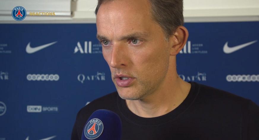 PSG/Angers - Tuchel revient sur la titularisation et la performance de Sarabia
