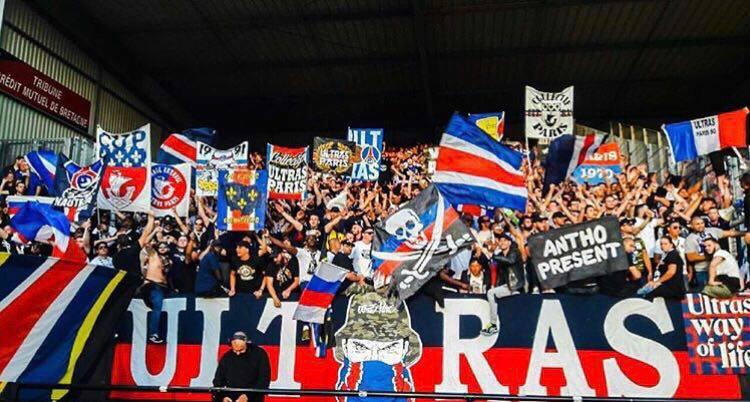 Galatasaray/PSG - Les Ultras parisiens ont eu des soucis avec la police