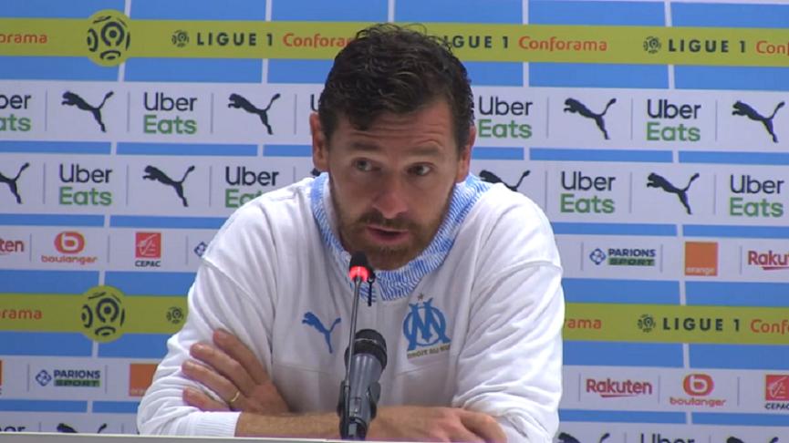 PSG/OM - André Villas-Boas «Ce n'est pas un match qui compte trop pour moi»